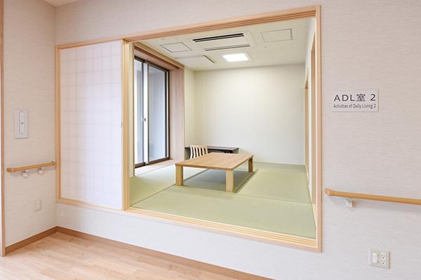 5階 ADL室(手前)