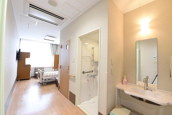 個室(トイレ・シャワー・洗面台)