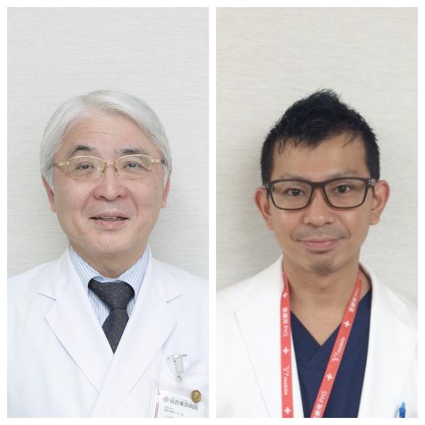 左:伊藤康信 院長代行 右:矢部敬之 医師